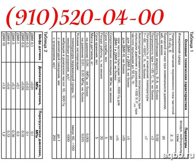 Продам датчики давления ДМИ-3-2 ДМИ-0,6-2 ДМИ-1-2 ДМИ-10-2