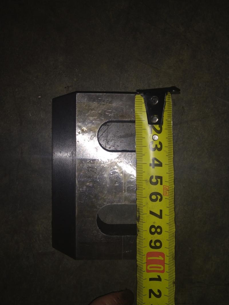 Комплект ножей новый для дробилки XFS-600 Hss-600