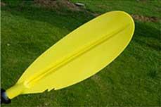 Весло для байдарок каяков двухсекционное