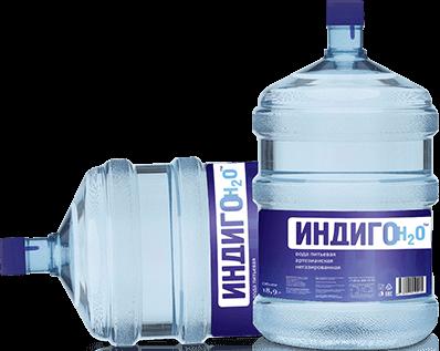 Доставка питьевой воды Индиго H2O